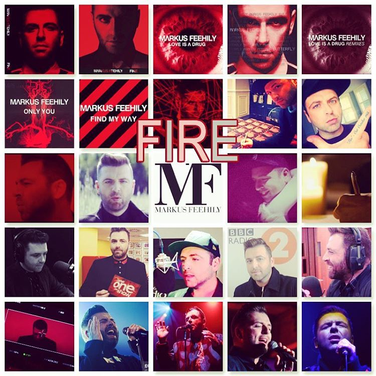 One year since the release of Markus Feehily's debut solo album 'Fire'