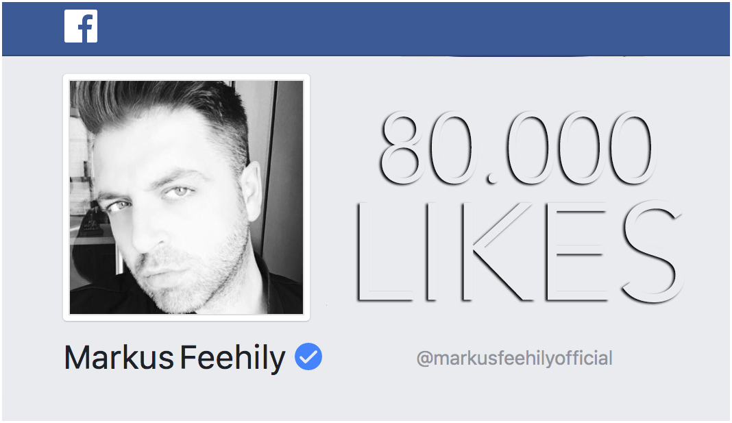80.000 likes on Markus Feehily's Facebook