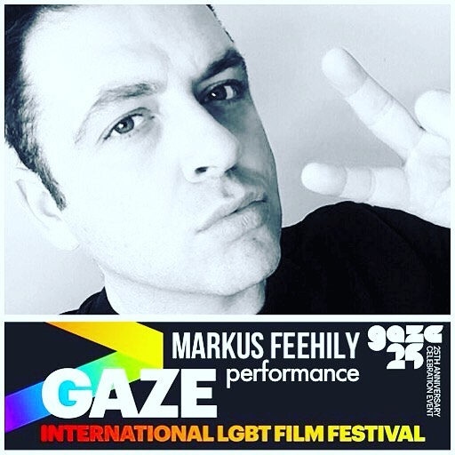 Markus Feehily performing at GAZE International Film Festival Dublin Celebration Event on 15 June 2017