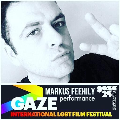 Markus Feehily performing at GAZE International Film Festival Dublin Celebration Event on 15 June 2017