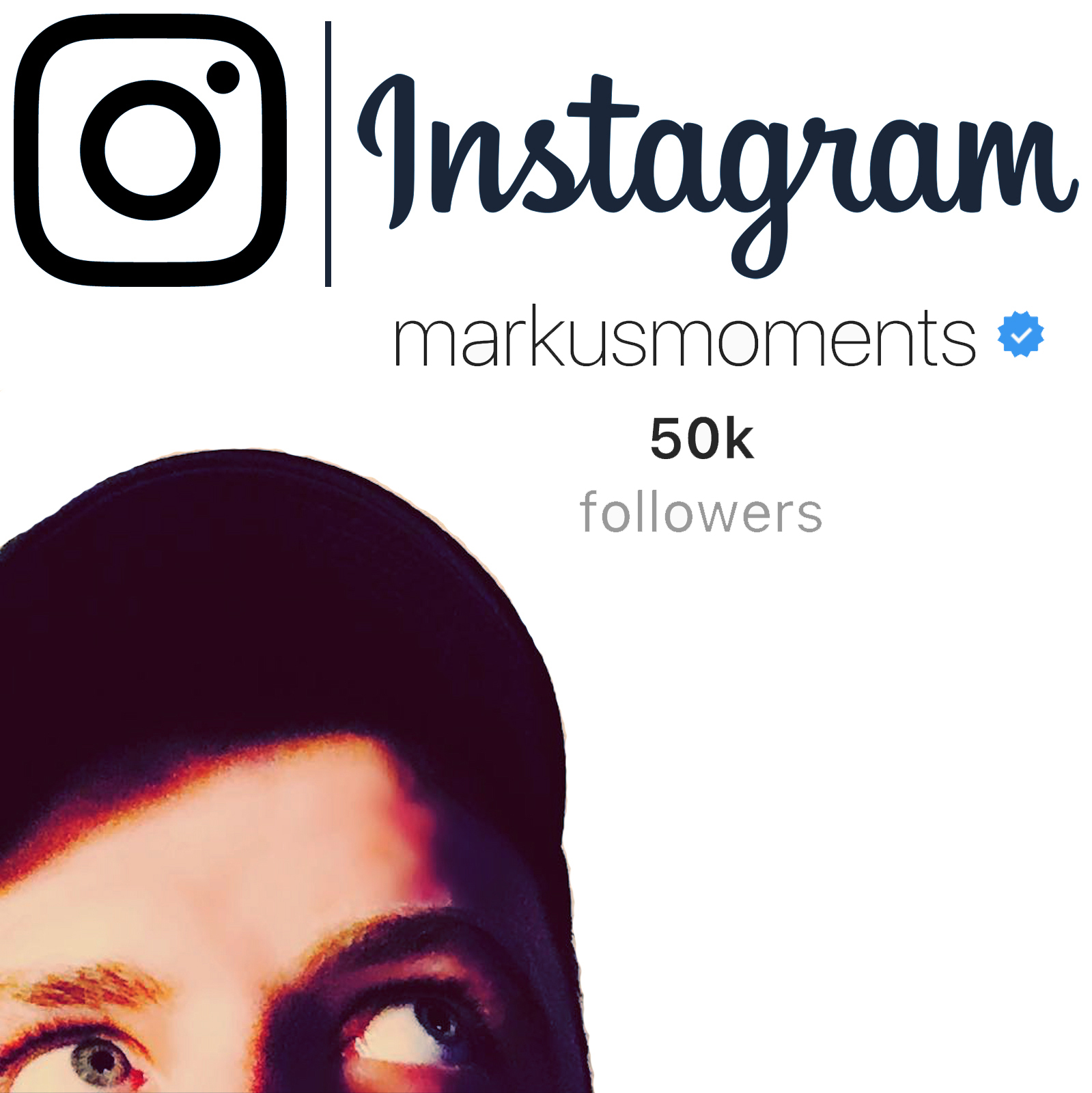 Markus Feehily 50.000 Instagram Followers - @markusmoments